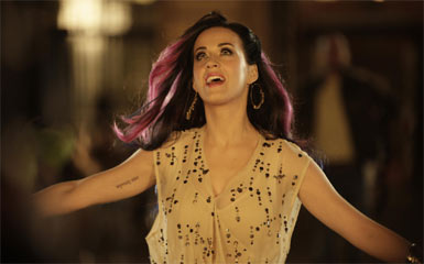 Katy Perry - Katy Perry in the video Firework.