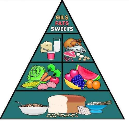 Food Chart - Canadian Food Chart Pyramid