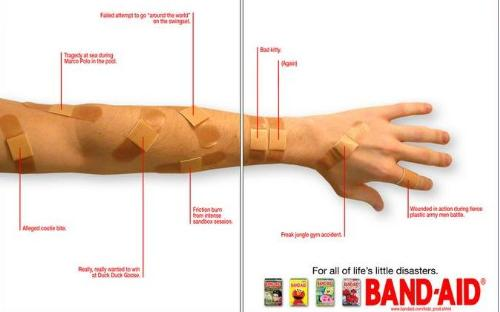 Band-Aid - Band-Aid commercial