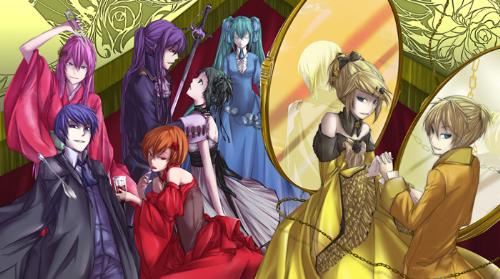 Vocaloids - Seven Deadly Sins - The Vocaloids as characters for the Seven Deadly Sins song series.