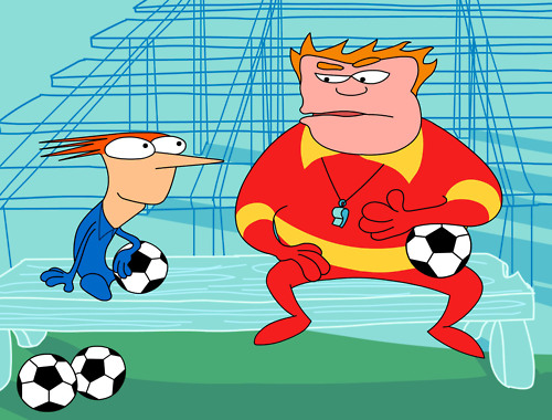 Home Movies - Brendon and Coach McGuirk - Brendon Small and Coach John McGuirk