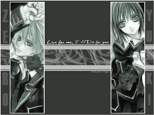zero X yuuki - forbidden love