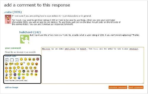 myLot Code - Screenshot showing myLot codes