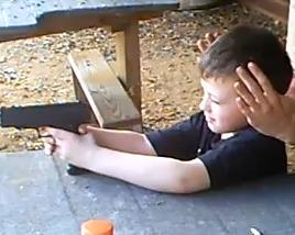 that's no Toy gun - believe he shot that