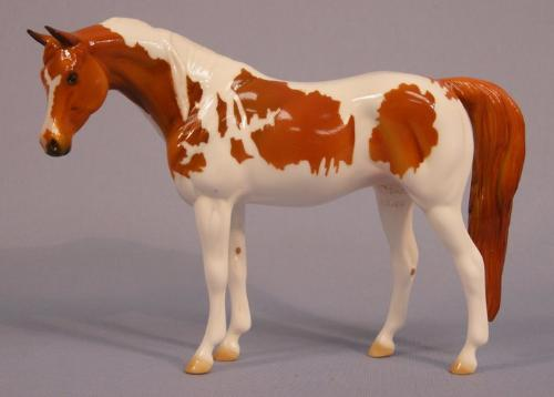 Orange Pinto - The Peter Stone company made a Halloween Horse! This beautiful orange Pinto!