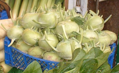 Kohlrabrain - A very good tasting veggy.