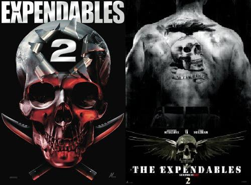 The Expendables 2 - Teaser poster