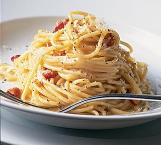 spaghetti - pastas are my favorites, spaghettis are usually served weekly in our house, it's our favorite snack. many children love spaghettis sauces come in different tastes and sweetness I want my spaghetti in rich thick tomato sauce with lots of onions and other spices. I also want mushrooms in it.