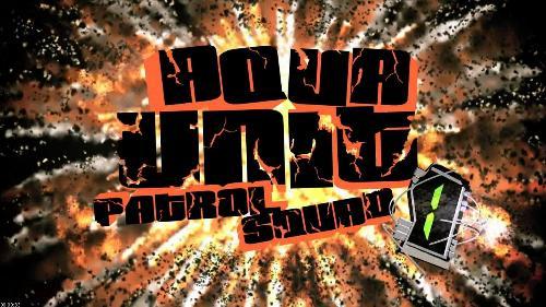 Aqua Unit Patrol Squad 1 - The title screen for continuation of Aqua Teen Hunger Force