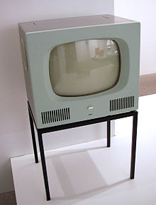 Tv - A tv from 1958.