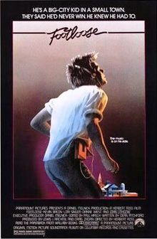 Footloose - The movie came out in 1984. Thought it was stupid. Now it has been remade and is coming out soon.