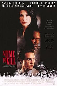 Time to kill - Saw part of the movie over the weekend. Need to rent it so i can watch the whole thing!