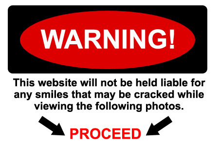warn not to smile - can you avoid smiling?