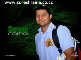 Suresh raina - Raina is the icon for young cricketer.