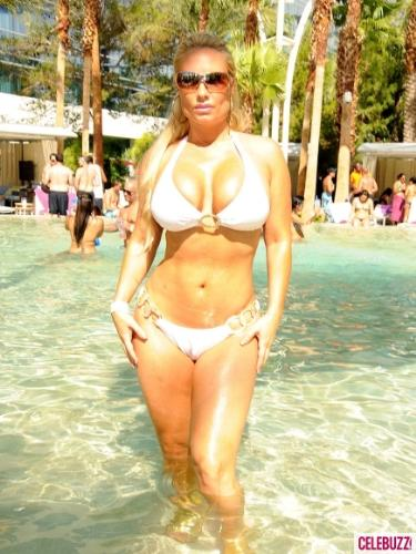 Coco - Usually she wears thong bikini's!
