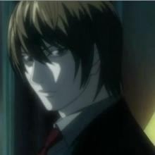 Varier 's First Avatar - Light Yagami - Light Yagami - from 'Death Note' serial. Also known as Raito Yagami ('Ra-i-to' is Japanese pronunciation for 'Light'). Smart, talented, and dangerous..
