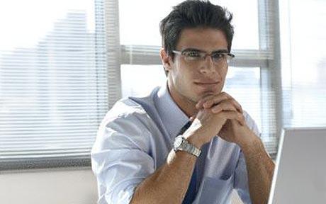 Man wearing eyeglasses - Eyeglasses