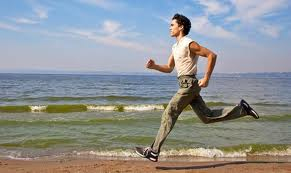 Jogging - Nothing beats a good job at the beach in the sunshine. Keeps the body moving and healthy!