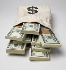 Lot of money - More money can make hard work is successful way of making money...........hard work is successful way of making money
