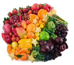 Fruit Rainbow - Color coordinated fruit