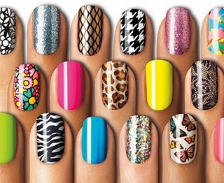 Nail Polish - Various nail polish colors & designs