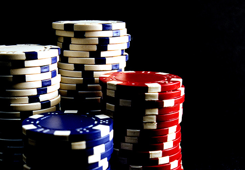 Poker chips - To play or not to play?