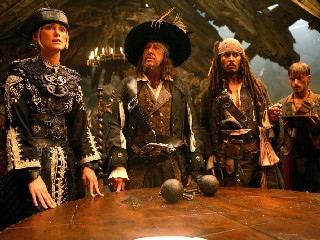 Pirates of the Caribbean: At World's End movies in Italy