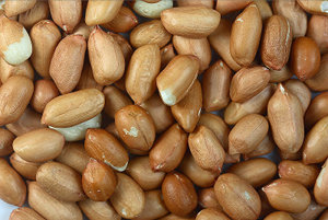 Raw peanuts - They do look good, but they don't taste that great to me :D