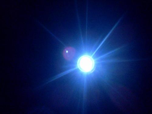 blue light. I even used it on my album cover. - Some cool orb i created.