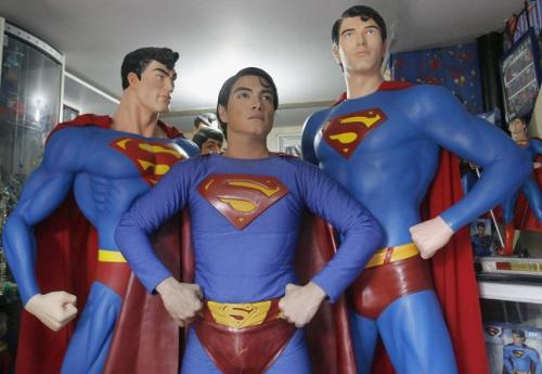 Herbert Chavez - Herbert Chavez as Superman