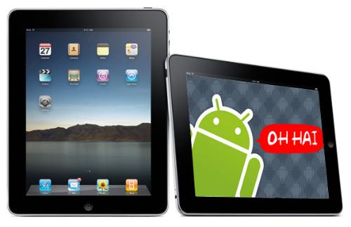 iPad vs Android tablets - A close fight for the consumer pie between the two major OSs