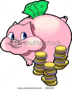 piggy bank - mylot helps me save