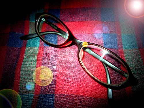 eyeglass - Eyeglass, a part of my daily needs. With this, I can able to read and see the words clearly. As my vision is not a 20/20 anymore.