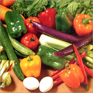 Vegetables - Vegetables are healthy foods. We can make lots of recipes from it.