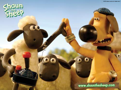 Shaun the Sheep - Shaun the sheep and the dog