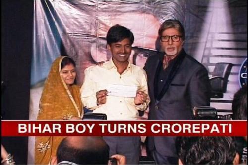 KBC boy win 5 Crores  - Bihar Boy in KBC