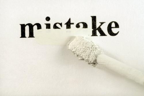 We All Make Mistakes - We all makes mistakes but not everyone will allow you to correct it.