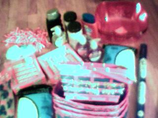 shopping supplies. - stuff for my gift baskets..