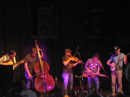 InFamous StringDusters - They can play so amazingly, they kept this very large Theater rocking with there blue grass music and old folk type songs for hours into the night.