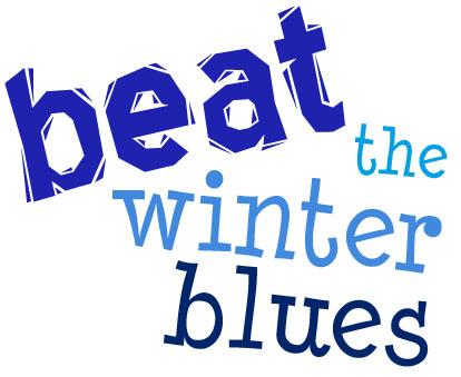 beat the winter blues - slogan