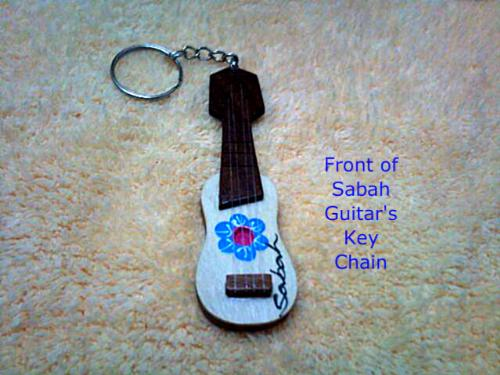 Sabah Guitar's key chain for sale - This is just an ordinary Guitar's shape key chain from Sabah. $3.00 and free shipping worldwide!  Get it now => http://adf.ly/776057/sabahborneokeychain