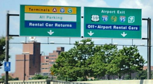 Example of Unhappy NJ Drivings - One of the bad things about driving in New Jersey is getting the Dickens out of Newark Liberty International Airport when picking up someone visiting you or returning from a vacation! 