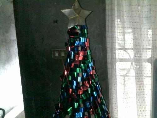 Customized Christmas tree - Made by my brother.