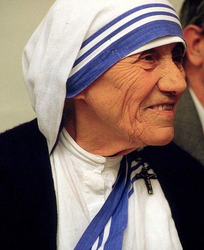 Dead but not forgotten - Photo of Mother Teresa