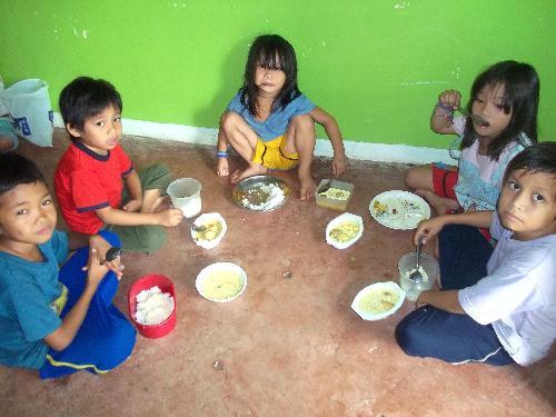 feeding program - feeding program implemented on poor children