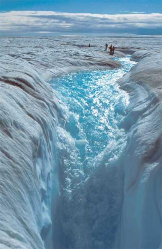 Melting Ice at Antarctica  - Antarctica: One place that I want to go with my family to see the real effect of global warming which is melting ice.