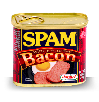 More Spam - This Spam has Bacon in it!