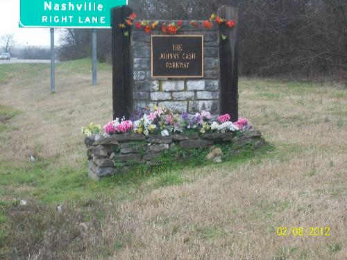 Johnny Cash Parkway - This is a picture of Johnny Cash Parkway.
