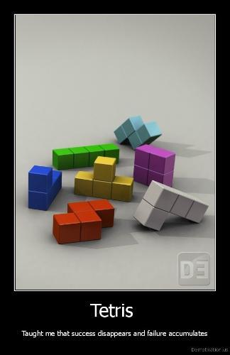 Tetris - A picture of Tetrimos