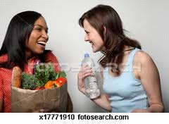 Women chatting  - Chatting is the habit of women